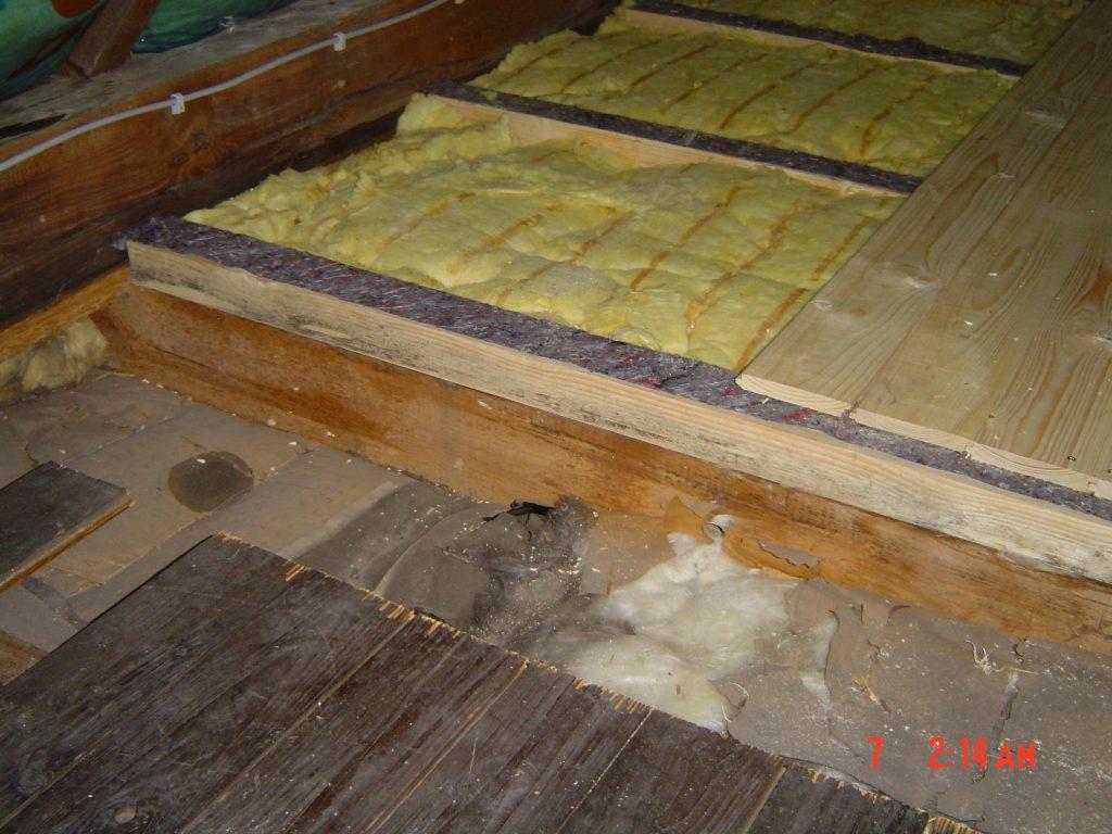 Holzbalkendecken Niedrig Energie Institut